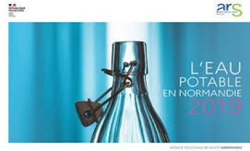 ARS BILAN QUALITE DE L'EAU POTABLE EN NORMANDIE 2019
